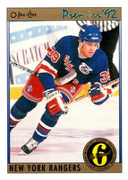 (HCW) 1991-92 OPC Premier #139 Doug Weight NY Rangers NHL Mint
