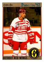 (HCW) 1991-92 OPC Premier #142 Steve Yzerman Red Wings NHL Mint