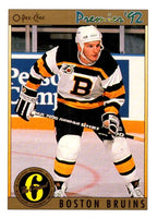 (HCW) 1991-92 OPC Premier #154 Ken Hodge Jr. Bruins NHL Mint