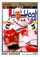 (HCW) 1991-92 OPC Premier #164 Mike Gartner NY Rangers NHL Mint