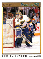 (HCW) 1991-92 OPC Premier #165 Curtis Joseph Blues NHL Mint