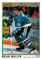 (HCW) 1991-92 OPC Premier #166 Brian Mullen Sharks NHL Mint