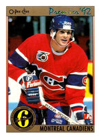(HCW) 1991-92 OPC Premier #184 Sylvain Turgeon Canadiens NHL Mint