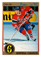 (HCW) 1991-92 OPC Premier #194 Russ Courtnall Canadiens NHL Mint