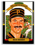 1987 Donruss #10 Rick Rhoden Pirates DK MLB Mint Baseball