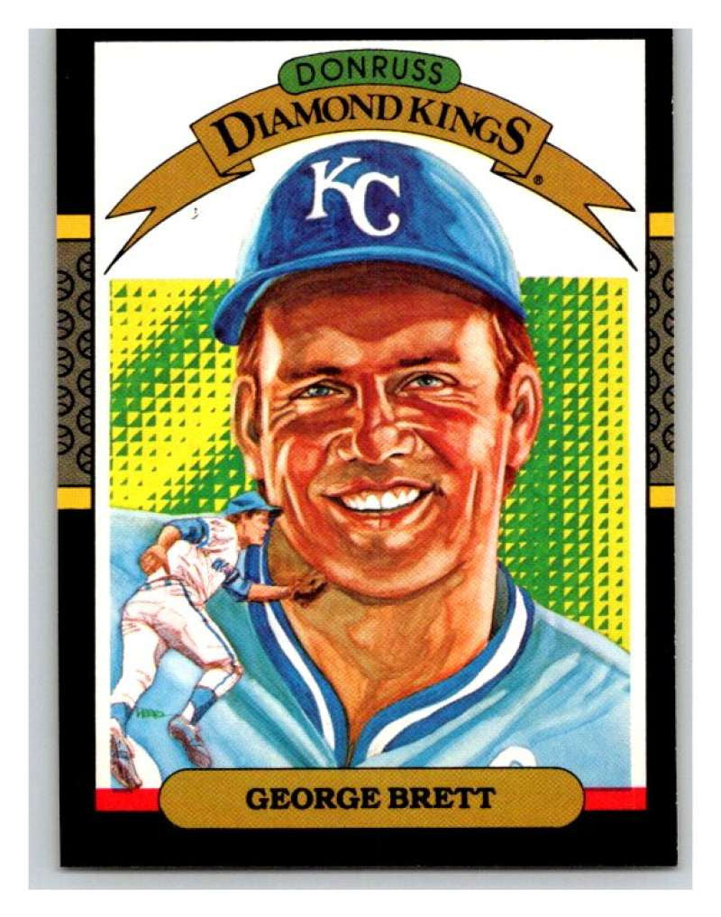 1987 Donruss #15 George Brett Royals DK MLB Mint Baseball