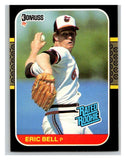 1987 Donruss #39 Eric Bell RC Rookie Orioles MLB Mint Baseball