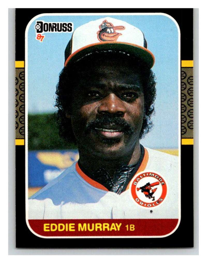 1987 Donruss #48 Eddie Murray Orioles MLB Mint Baseball