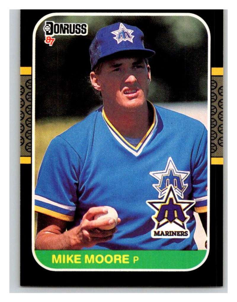 1987 Donruss #70 Mike Moore Mariners MLB Mint Baseball
