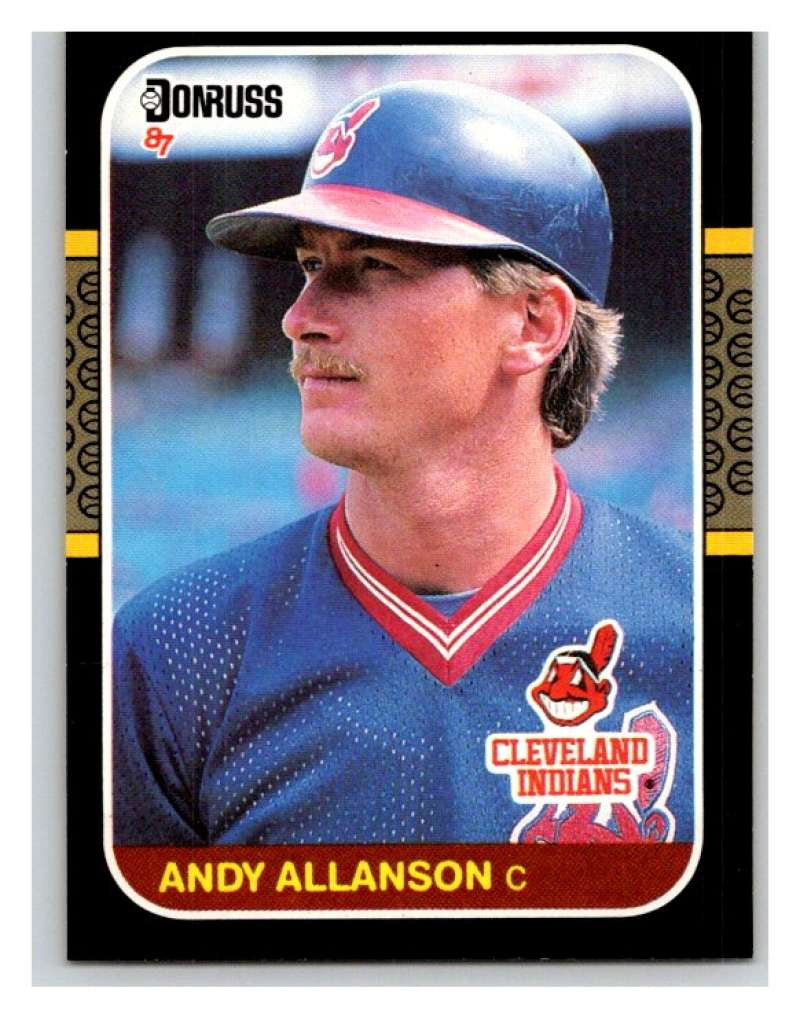 1987 Donruss #95 Andy Allanson RC Rookie Indians MLB Mint Baseball