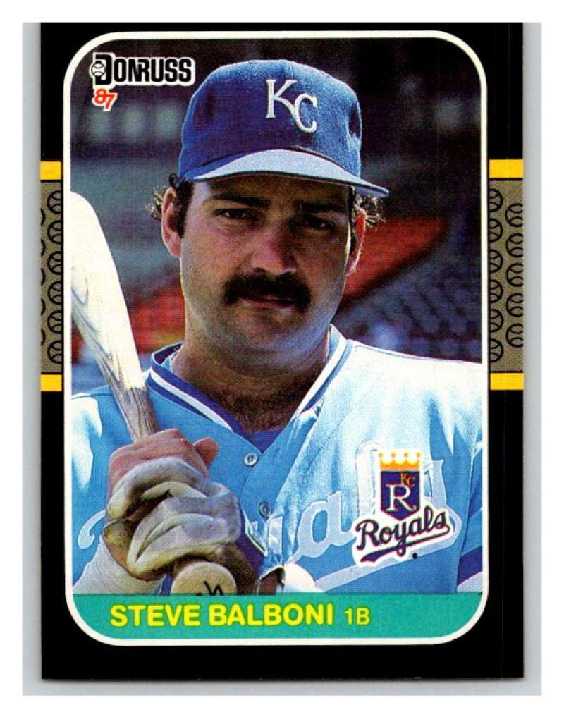 1987 Donruss #102 Steve Balboni Royals MLB Mint Baseball