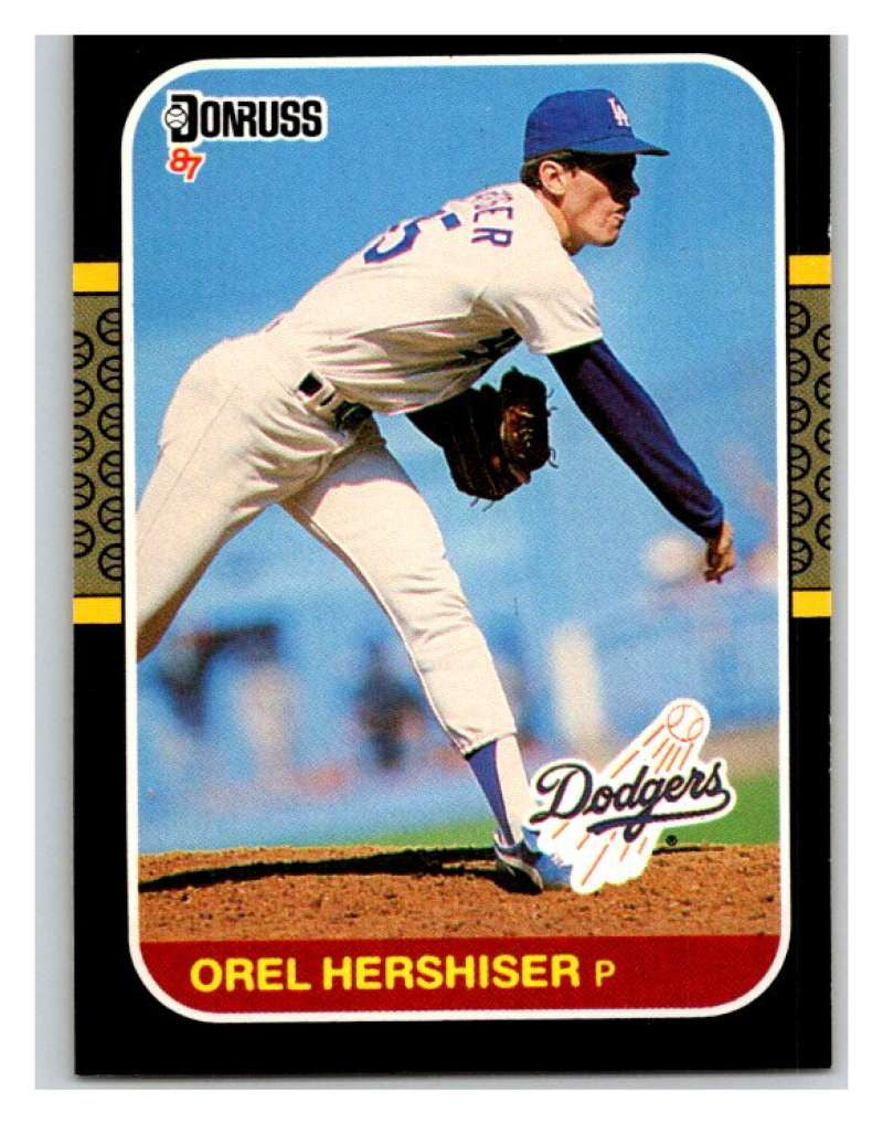 1987 Donruss #106 Orel Hershiser Dodgers MLB Mint Baseball