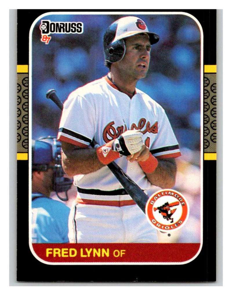 1987 Donruss #108 Fred Lynn Orioles MLB Mint Baseball