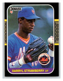 1987 Donruss #118 Darryl Strawberry Mets MLB Mint Baseball