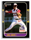 1987 Donruss #124 Joel Davis White Sox MLB Mint Baseball
