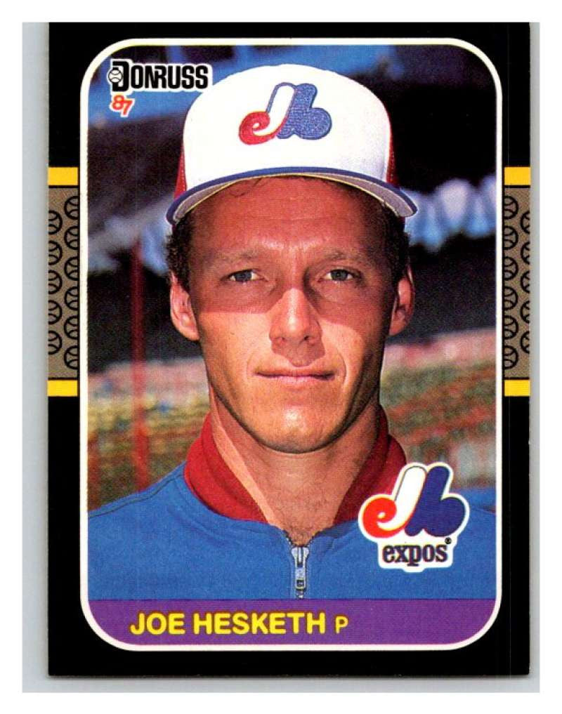 1987 Donruss #134 Joe Hesketh Expos MLB Mint Baseball