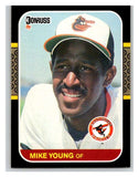 1987 Donruss #150 Mike Young Orioles MLB Mint Baseball