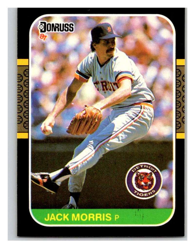 1987 Donruss #173 Jack Morris Tigers MLB Mint Baseball