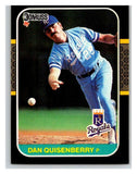 1987 Donruss #177 Dan Quisenberry Royals MLB Mint Baseball