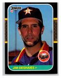 1987 Donruss #184 Jim Deshaies RC Rookie Astros MLB Mint Baseball