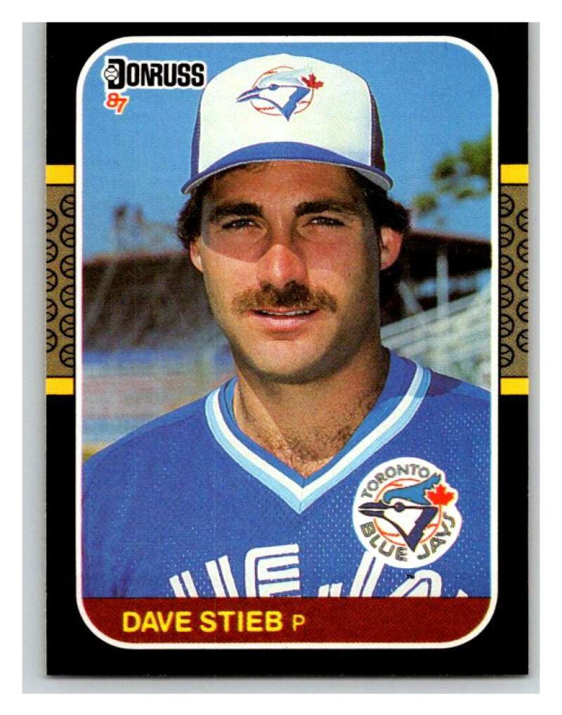 1987 Donruss #195 Dave Stieb Blue Jays MLB Mint Baseball