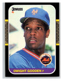 1987 Donruss #199 Dwight Gooden Mets MLB Mint Baseball