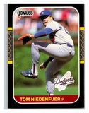 1987 Donruss #218 Tom Niedenfuer Dodgers MLB Mint Baseball