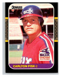 1987 Donruss #247 Carlton Fisk White Sox MLB Mint Baseball