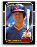1987 Donruss #254 Pat Tabler Indians MLB Mint Baseball
