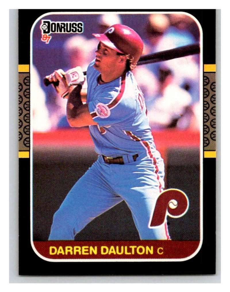 1987 Donruss #262 Darren Daulton Phillies MLB Mint Baseball
