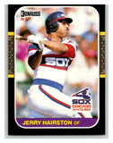 1987 Donruss #285 Jerry Hairston White Sox MLB Mint Baseball