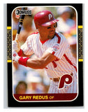 1987 Donruss #288 Gary Redus Phillies MLB Mint Baseball