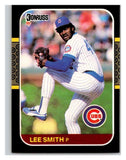 1987 Donruss #292 Lee Smith Cubs MLB Mint Baseball