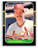 1987 Donruss #307 Todd Worrell Cardinals MLB Mint Baseball