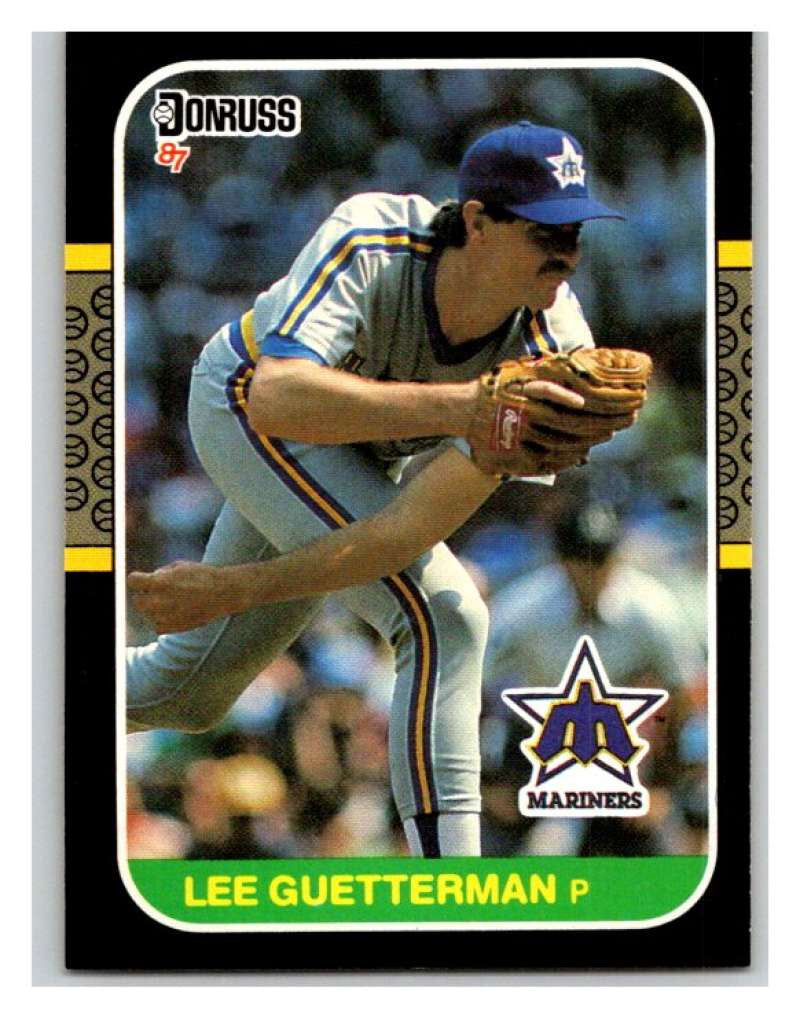 1987 Donruss #322 Lee Guetterman RC Rookie Mariners MLB Mint Baseball