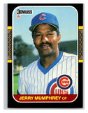 1987 Donruss #324 Jerry Mumphrey Cubs MLB Mint Baseball