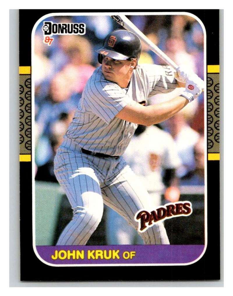 1987 Donruss #328 John Kruk RC Rookie Padres MLB Mint Baseball