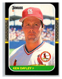 1987 Donruss #357 Ken Dayley Cardinals MLB Mint Baseball