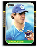 1987 Donruss #366 Mike Morgan Mariners MLB Mint Baseball