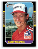 1987 Donruss #370 Bobby Thigpen RC Rookie White Sox MLB Mint Baseball