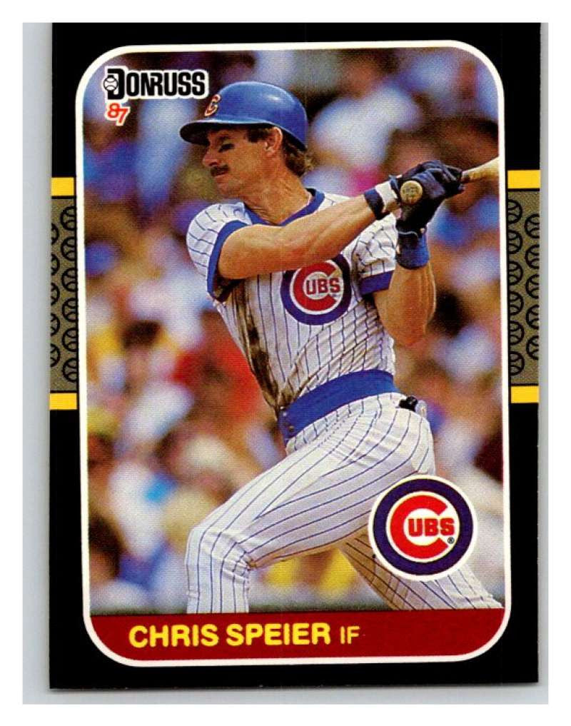 1987 Donruss #392 Chris Speier Cubs MLB Mint Baseball