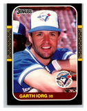 1987 Donruss #394 Garth Iorg Blue Jays MLB Mint Baseball