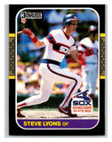 1987 Donruss #409 Steve Lyons White Sox MLB Mint Baseball