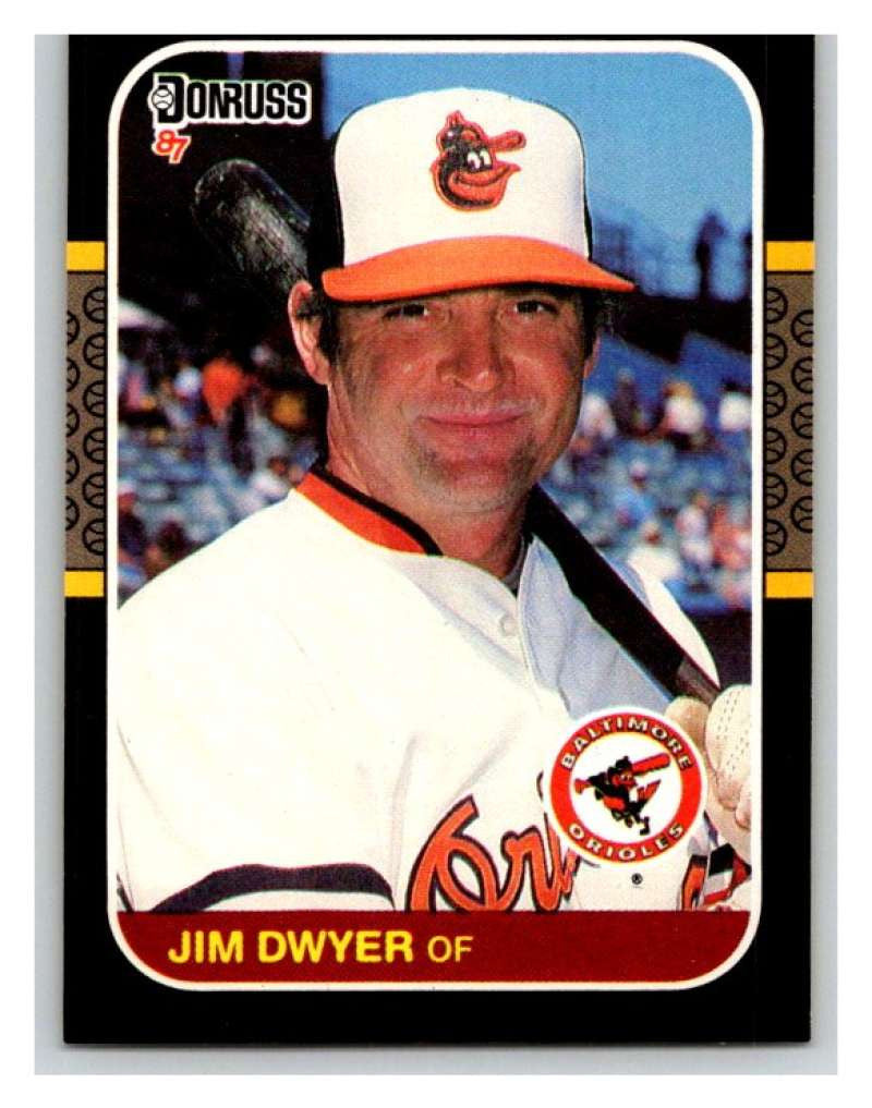 1987 Donruss #418 Jim Dwyer Orioles MLB Mint Baseball