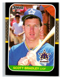 1987 Donruss #440 Scott Bradley Mariners MLB Mint Baseball