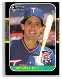 1987 Donruss #443 Roy Smalley Twins MLB Mint Baseball