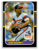1987 Donruss #457 Jose DeLeon White Sox MLB Mint Baseball