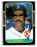 1987 Donruss #462 Bill Buckner Red Sox MLB Mint Baseball