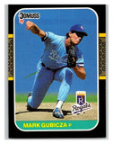 1987 Donruss #466 Mark Gubicza Royals MLB Mint Baseball