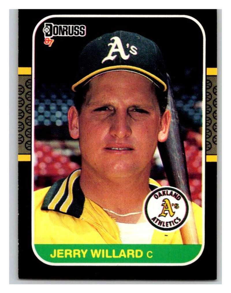 1987 Donruss #467 Jerry Willard Athletics MLB Mint Baseball